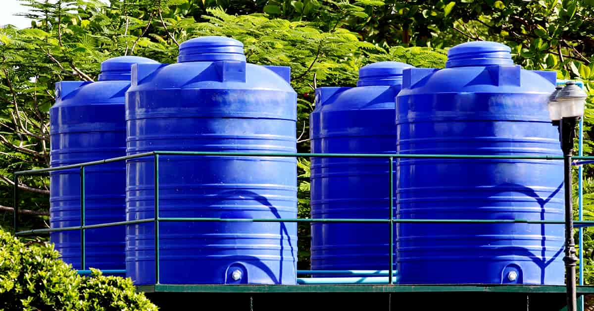 water-tank cleaning service